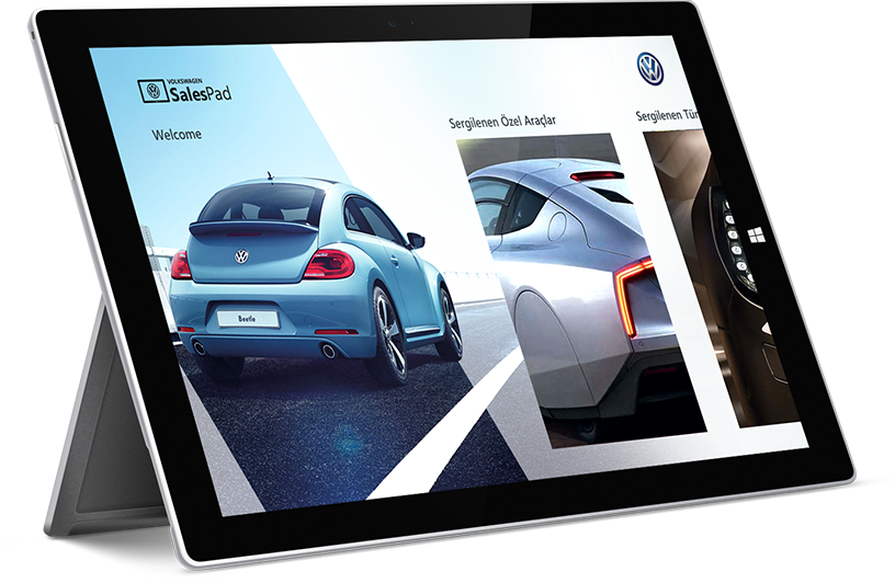 Volkswagen Windows 8 Tablet Uygulama
